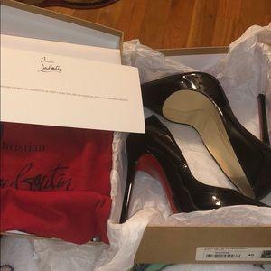 Women's Black Pigalle 120Christian Louboutin Heels